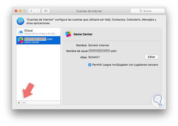 Đăng xuất Game Center trên Mac