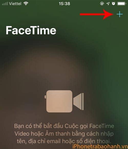 Tìm địa chỉ liên lạc bạn muốn gọi Facetime