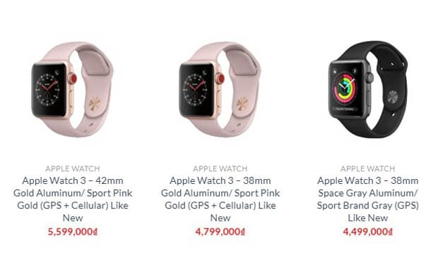 Apple Watch Series 3 tại Shop