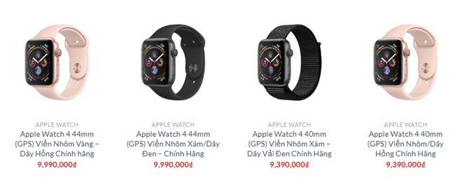 Apple Watch Series 4 tại Shop