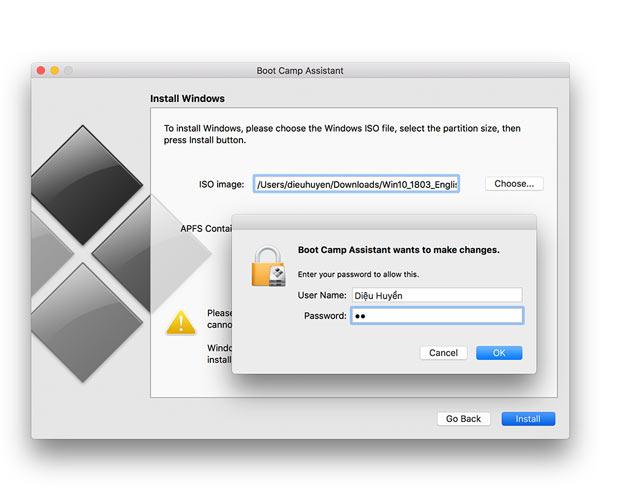Chạy ứng dụng Windows trên Mac bằng Boot Camp