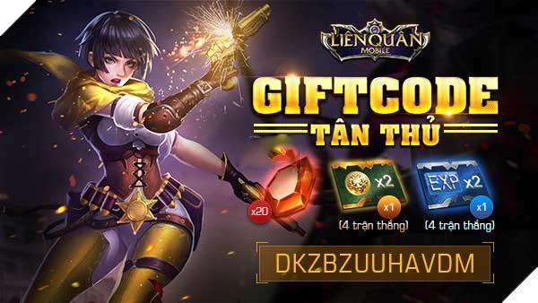 Giftcode Tân Thủ liên quân mobile