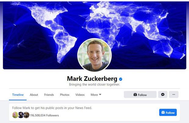Tác dụng của tích xanh facebook