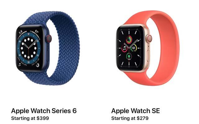 Giá bán Apple Watch SE