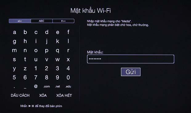 Kết nối mạng wifi