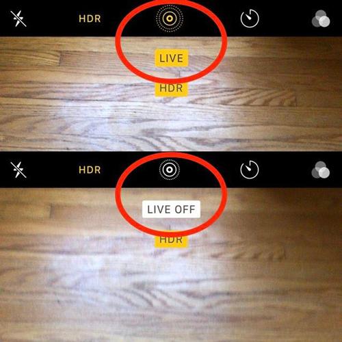 Cách chụp ảnh Live Photos trên iPhone
