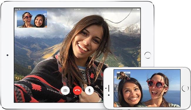 Face Time ứng dụng tích hợp sẵn trên iOS