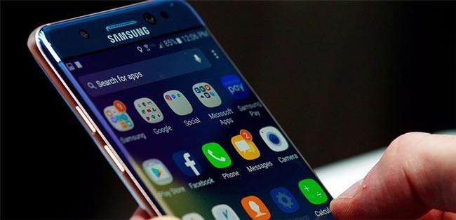 Test màn hình Samsung