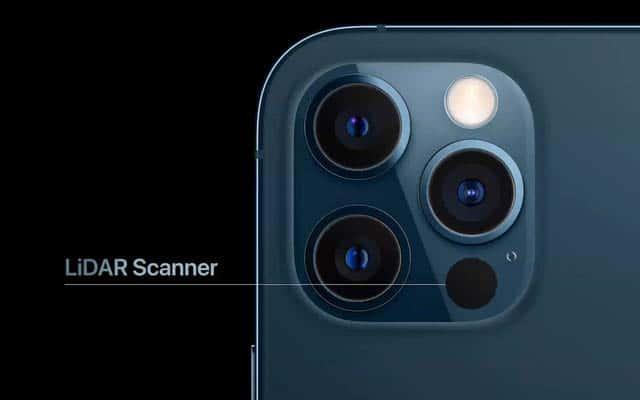 Camera công nghệ mới với cảm biến LiDAR