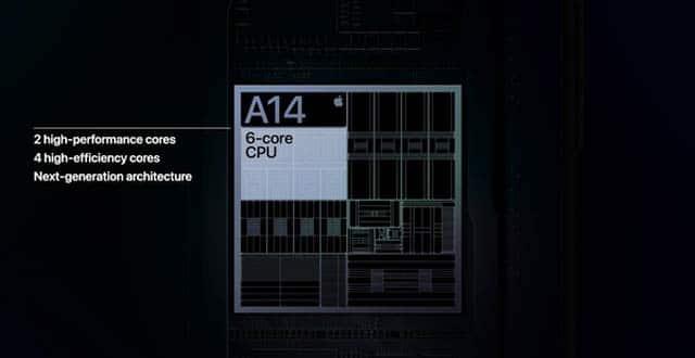 Hiệu năng iPhone 12 Pro Max mạnh mẽ với chip A14