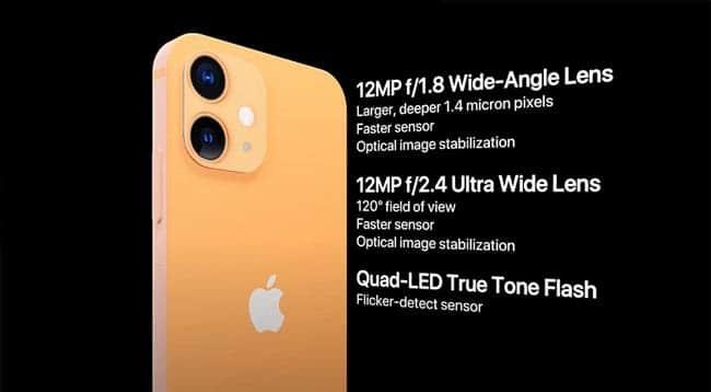 iPhone 12 mini hệ thống camera chuyên nghiệp