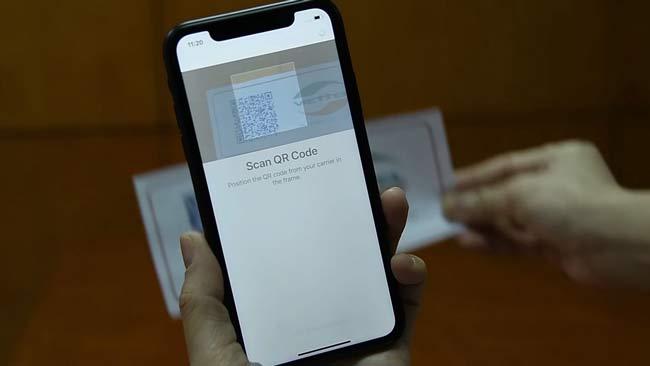 Cách cài đặt eSIM trên iPhone