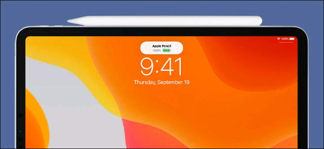 Bút sẽ được sạc khi gắn với iPad