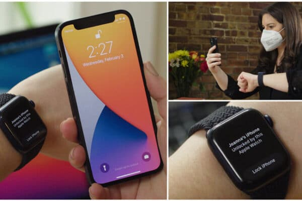 Cách mở khóa iPhone bằng Apple Watch