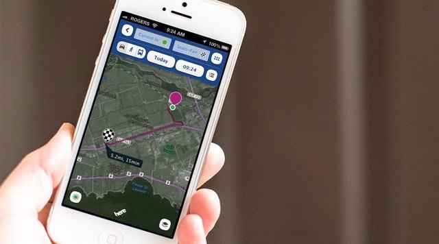Xem bản đồ vệ tinh trên điện thoại