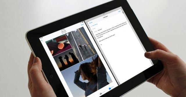Chia đôi màn hình iPad bằng Dock