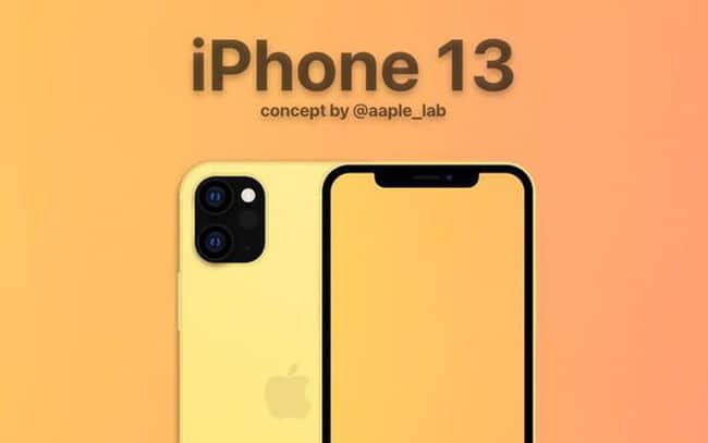 Thiết kế iPhone 13