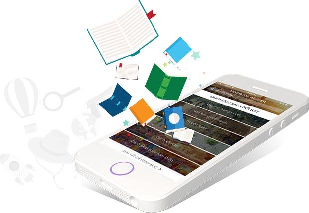 phần mềm đọc sách online trên điện thoại