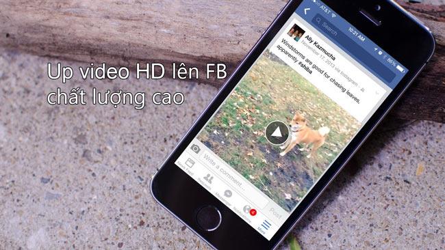 tải video full hd lên facebook