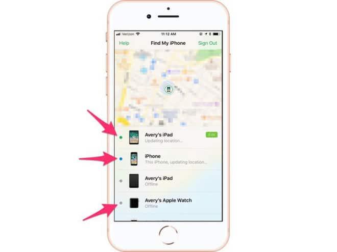 Cách tìm trên iPhone