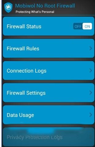 Sau đó bật Firewall