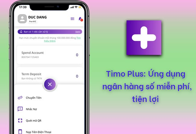 Ứng dụng Timo
