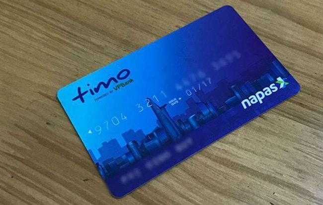 Hướng dẫn cách mở thẻ Timo VPBank