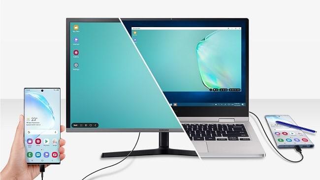 kết nối điện thoại Samsung với máy tính
