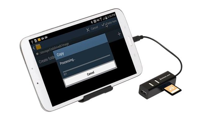 Đọc và truyền dữ liệu trực tiếp từ ổ cứng, USB, thẻ nhớ