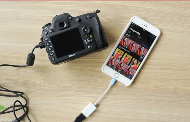 Điều khiển máy ảnh DSLR của bạn
