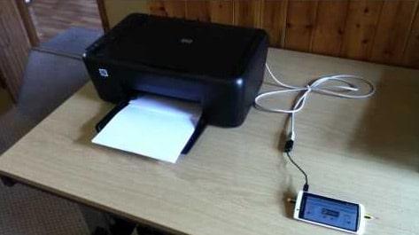 In trực tiếp từ máy in