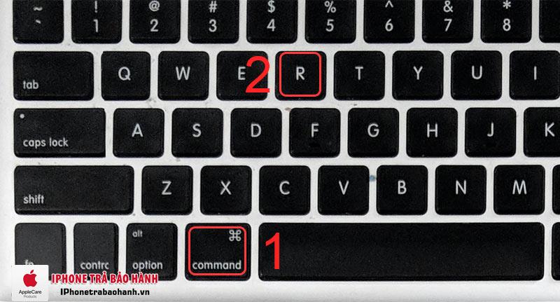 Nhấn tổ hợp phím Command + R